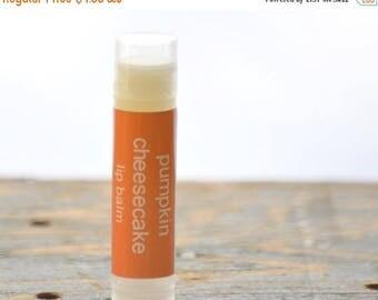ON SALE Pumpkin Cheesecake Lip Balm - pumpkin lip balm - fall lip balm - pumpkin cheesecake lip balm - bakery lip balm