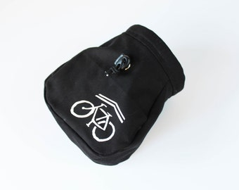 Share the Road Bicycle - Rock Climbing Chalk Bag
