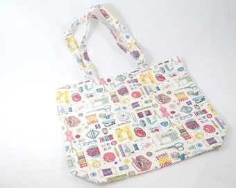 Large Project Bag - Sew Vintage