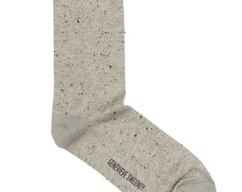 Silk Tweed Cotton socks with a hint of sparkle, perfect socks for groomsmen