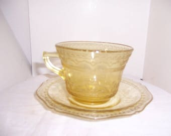 CUP and SAUCER PATRICIAN