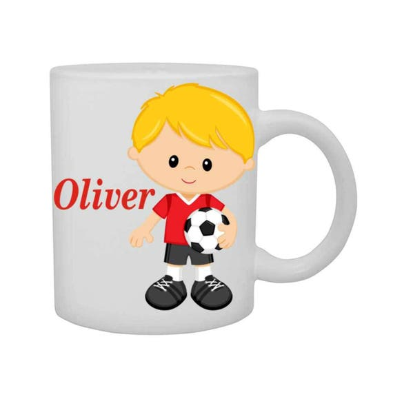 boys soccer cup, boys soccer mug, personalized boys cup, customized boys mug, boys mug, boys birthday gift,
