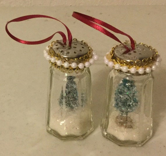 Salt Shaker Christmas Ornament