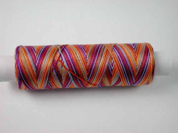 8-3062 color Carnaval, Jerry cotton gradient, knitting and crochet yarn for the miniature hand work