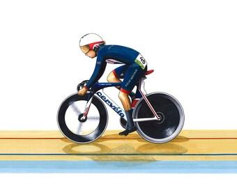 Laura Trott - Omnium - Rio Olympics 2016 POSTER PRINT A1 Size