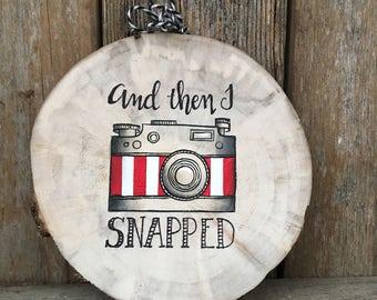 Camera Ornament, Christmas Ornament, Photographer Gift, Ornament, Camera, Wedding Photographer, Personalized Ornament, Christmas