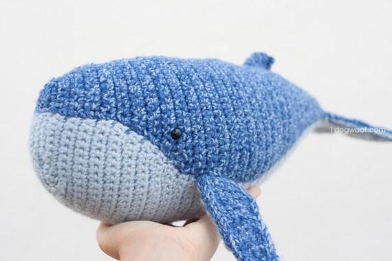 Baby Humpback Whale Amigurumi Crochet Pattern from ...