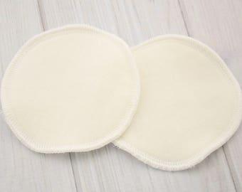 Bamboo Nursing Pads - Heavy Bamboo Fleece - Cloth Breast Pads - Breast Feeding Pads - Bamboo Breast Pads - 1600