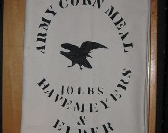 Civil War Corn Meal Bag