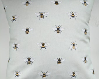 """Cushion Cover in Sophie Allport Bees 14"""" 16"""" 18"""" 20"""""""