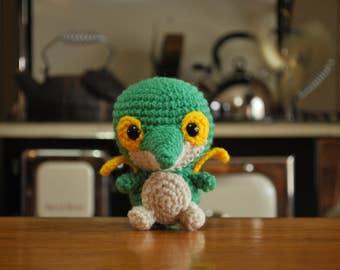 Crochet Chibi Snivy