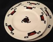 Ahwahnee, Yosemite, restaurant ware, china, Sterling, vintage, plates