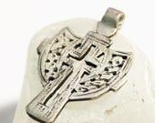 Nice Small Ethiopian Coptic Cross Pendant 62X42 mm, African Religious Pendant, Ethnic Jewelry Supplies (*AJ6*)