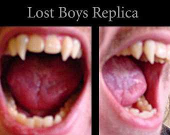 Lost Boys Fangs (Custom made from scratch)
