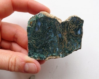 Hungarian Blue Agate Chalcedony - Lapidary Material (AG-GYT101)
