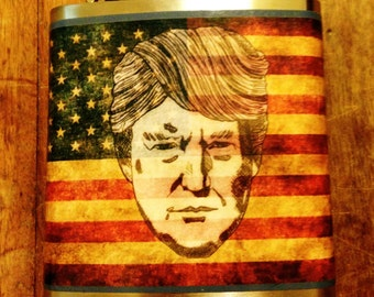 Trump Hip Flask- FREE SHIPPING