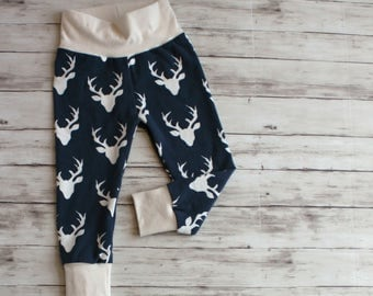 Boy Pants, Navy Buck Pants, Toddler Leggings, Woodland Pants, Baby Joggers, Jog Jammies, Boy Joggers, Coming Home Outfit, Kid Leggings