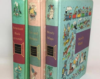 Childrens Classic Book Collection / Vintage Children's Through Golden Windows Books