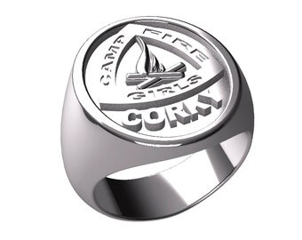 Camp Fire Girls Ring