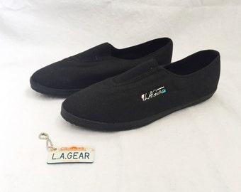 LA Gear Sneakers Work Out Slip On Women's Size 7.5 Deadstock 1990s