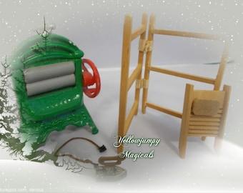 1/12th dollhouse washing/laundry items