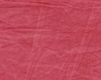 Red New Aged Muslin, weathered antique blender fabric