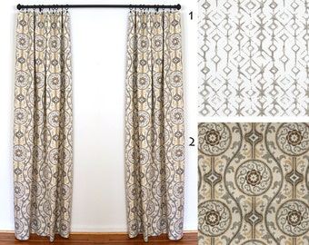 curtains 2 curtain panels draperies window treatments magnolia oh suzanni