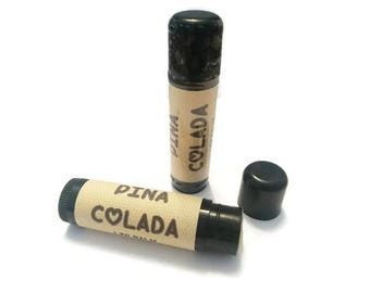 Pina Colada- Lip Balm- Cocktail- Coconut- Pineapple- Beach- Holiday- Sunshine- Summer- Sunny- Cocktails- Alcohol- Medusa Holistics