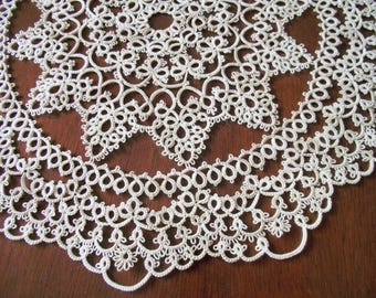 Tatted Doily, Home Decor, Tatted Doilies