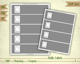 antique sepia blank spice labels digital collage sheet 300dpi. Black Bedroom Furniture Sets. Home Design Ideas