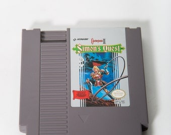 NES Cartridge Castlevania II Simon's Quest Video Game Nintendo Konami Tested and Working