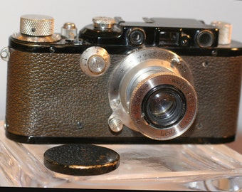 Leica with Elmar Lens Great Condition
