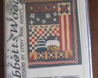 Winter in America Lap Quilt Pattern