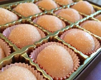 strawberry brigadeiro truffles