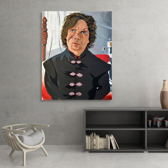 Peter Dinklage / Tyrion Lannister Acrylic Painting SIGNED Fine Art Print