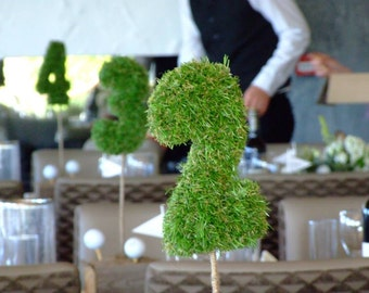 Grass Table Numbers