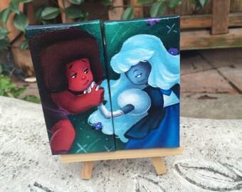 rupphire mini canvas set