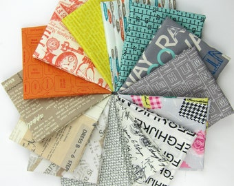 Text Me Maybe Fat Quarter Bundle - 14 Fat Quarters - 3.5 Yards Total