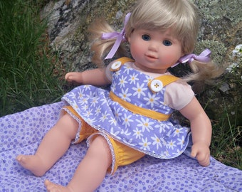 Little Bitty Strappy Top and Bloomers -- American Made to Fit Your Baby Doll
