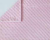 Minky Pillowcase - COTTON CANDY PINK - fits standard and queen size