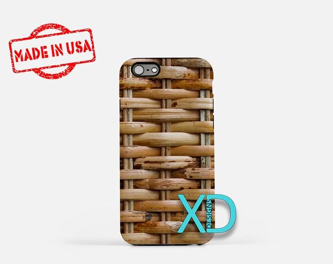Basket Weave iPhone Case, Weave iPhone Case, Basket iPhone 8 Case, iPhone 6s Case, iPhone 7 Case, Phone Case, iPhone X Case, SE Case New