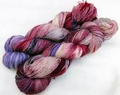 Handdyed SockYarn, 75 Wool, 25 Nylon 100g 3.5 oz. Nr. 714