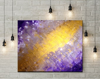 Home and Office Decor, Abstract Art Prints, Best Selling Wall Art, Modern Decor, Abstract Art Prints, Purple Artwork, Gold Contemporary Art