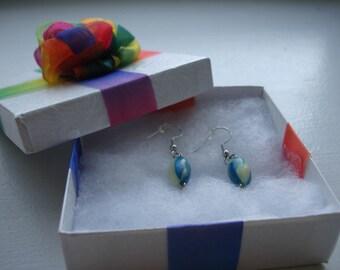 Teal Luz Earrings