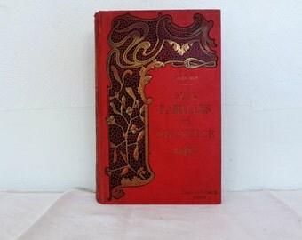 Deux Familles de Provence by Jules Guy, vintage french book, hardback