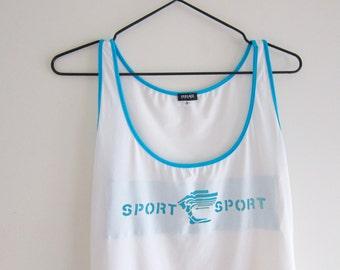 Versace Sport Tank Top | designer , vintage versace , versace sport , gianni versace , versace shirt