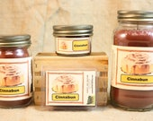 Cinnabun Scented Candle, Cinnabon Scented Wax Tarts, 26 oz, 12 oz, 4 oz Jar Candles or 3.5 Clam Shell Wax Melts