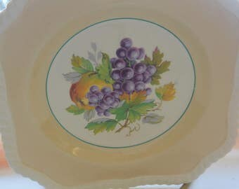 Johnson Brothers Plate - England, Old English, Fine China - Antique - Beautiful!