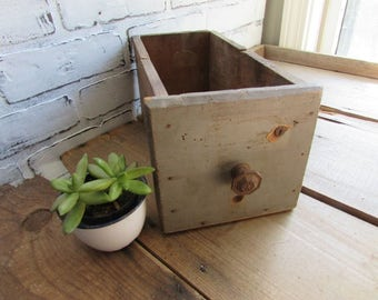 Deep Wood Drawer Wedding Decor Industrial Decor Storage Wedding Seating