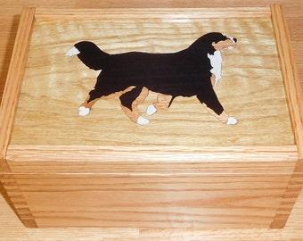 Bernese Mountain Dog Treat Box